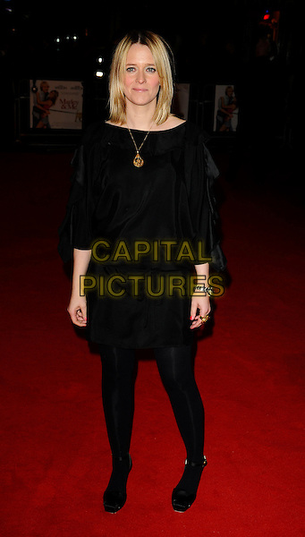"EDITH BOWMAN.""Marley & Me"" UK film premiere held at Vue cinema, Leicester Square, London, England..March 2nd, 2009. .full length black dress tights .CAP/CAN.©Can Nguyen/Capital Pictures."