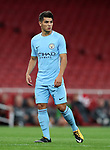 Manchester City's Brahim Diaz in action during the premier league 2 match at the Emirates Stadium, London. Picture date 21st August 2017. Picture credit should read: David Klein/Sportimage
