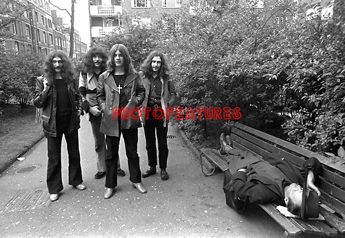 Black Sabbath 1970..© Chris Walter..