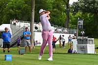 Ian Poulter (GBR) watches his tee shot on 3 during round 4 of the 2019 Charles Schwab Challenge, Colonial Country Club, Ft. Worth, Texas,  USA. 5/26/2019.<br /> Picture: Golffile | Ken Murray<br /> <br /> All photo usage must carry mandatory copyright credit (© Golffile | Ken Murray)