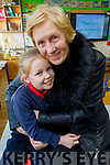 Éabha Maguire with her nan Sheila Fitzgerald at the Grandparents Day in Listellick NS on Friday.