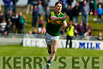 Jonathan Lyne Kerry in action against  Cork in the National Football league in Austin Stack Park, Tralee on Sunday.