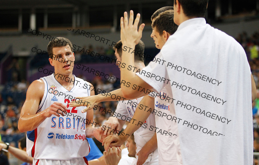 Nemanja Nedovic Trofej Beograda, Srbija - Ukraina, Serbia - Ucraine, basketball game in Belgrade Arena, Belgrade, Serbia on Saturday, August 10. 2013. (credit: Pedja Milosavljevic  / thepedja@gmail.com / +381641260959)