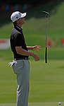 Cromwell, CT-22 JUNE 22 2018-062219MK06 Matt Jones reacts to a missed par putt on the 15th green Saturday morning during the third round of the 2019 Travelers Championship at the TPC River Highlands in Cromwell. Cantlay finished the round two over par with a score of 72. Michael Kabelka / Republican-American