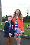 David Woodword and Sister Clare.Slane Confirmation..Picture: Fran Caffrey / www.newsfile.ie ..