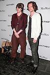 Haans Nicholas Mott (left) and Slater Bradley attend the annual Whitney Art Party hosted by the Whitney Contemporaries, and sponsored by Max Mara, at Skylight at Moynihan Station on May 1, 2013.