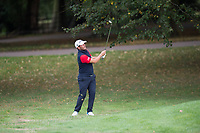Jose-Filipe Lima plays a pitch shot on the 18th during the final round of the  Bridgestone Challenge, Louto Hoo Hotel, Bedfordshire, England. 09/09/2018.<br /> Picture  / Golffile.ie<br /> <br /> All photo usage must carry mandatory copyright credit (&copy; Golffile | )