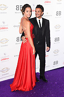 LONDON, UK. June 13, 2019: Peter and Emily Andre arriving for Caudwell Butterfly Ball 2019 at the Grosvenor House Hotel, London.<br /> Picture: Steve Vas/Featureflash