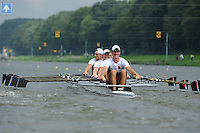 Amsterdam, NETHERLANDS, RUS BM4X,  2011 FISA U23 World Rowing Championships, Wednesday, 20/07/2011 [Mandatory credit:  Intersport Images]
