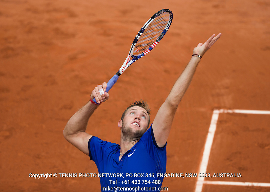 JACK SOCK (USA)<br /> <br /> TENNIS - FRENCH OPEN - ROLAND GARROS - ATP - WTA - ITF - GRAND SLAM - CHAMPIONSHIPS - PARIS - FRANCE - 2016  <br /> <br /> <br /> &copy; TENNIS PHOTO NETWORK