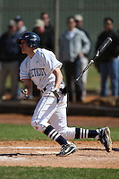 February 28, 2010:  Infielder Nick Ahmed of the University of Connecticut Huskies during the Big East/Big 10 Challenge at Raymond Naimoli Complex in St. Petersburg, FL.  Photo By Mike Janes/Four Seam Images