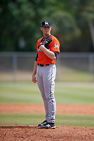 Miami Marlins pitcher Max Duval (63) during a Minor League Spring Training game against the St. Louis Cardinals on March 26, 2018 at the Roger Dean Stadium Complex in Jupiter, Florida.  (Mike Janes/Four Seam Images)