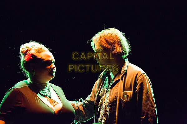 Patti Cake$ (2017) <br /> Danielle Macdonald and Director/Writer Geremy Jasper <br /> *Filmstill - Editorial Use Only*<br /> CAP/FB<br /> Image supplied by Capital Pictures