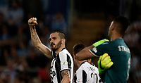 Calcio, Tim Cup: finale Juventus vs Lazio. Roma, stadio Olimpico, 17 maggio 2017.<br /> Juventus&rsquo; Leonardo Bonucci, left, celebrates after scoring during the Italian Cup football final match between Juventus and Lazio at Rome's Olympic stadium, 17 May 2017.<br /> UPDATE IMAGES PRESS/Isabella Bonotto