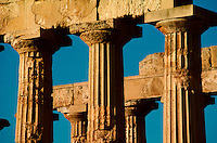 Roman remains at Selinunte, Sicily, southern Italy.