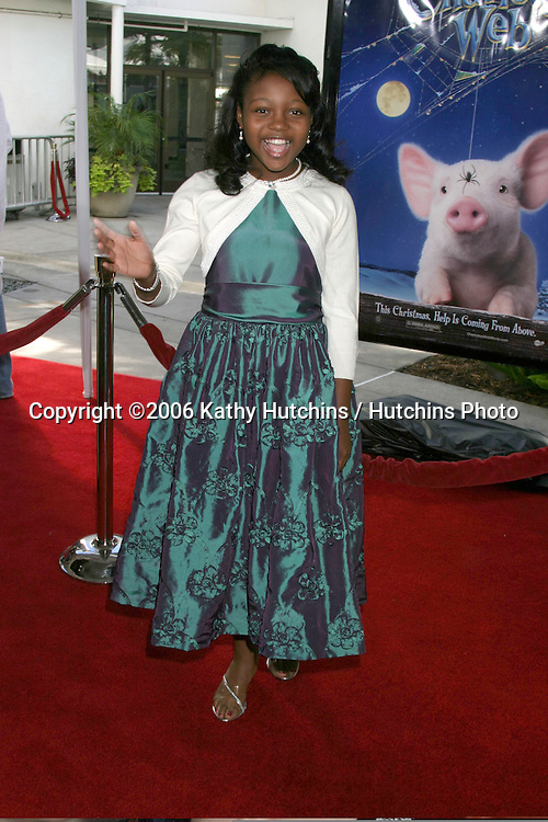 "Mariah I. Wilson.""Charlotte's Web"" Premiere.ArcLight Theaters.Los Angeles, CA.December 10, 2006.©2006 Kathy Hutchins / Hutchins Photo."