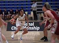Action from the National Under-23 Basketball Championships Tournament women's semifinal between Waitaha Canterbury and Harbour at Te Rauparaha Arena in Porirua, New Zealand on Friday, 10 August 2018. Photo: Dave Lintott / lintottphoto.co.nz