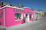 Shop for local crafts and Aran jumpers, Kilronan village, Inishmore, Aran Islands, County Clare, Ireland