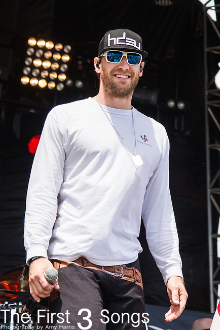 Chase Rice performs onstage during The Tortuga Music Festival in Fort Lauderdale, Florida.