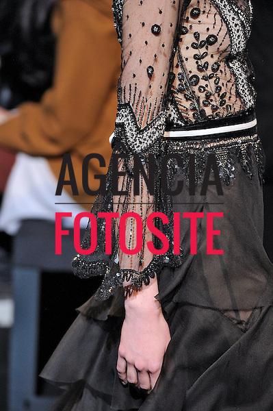 Milão, Itália – 20/02/2013 - Desfile de Alberta Ferretti durante o Milano Fashion Week  -  Inverno 2013. <br /> Foto: Firstview/FOTOSITE