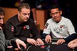 Team Pokerstars Pro Pat Pezzin and Friend of Pokerstars Darus Suharto