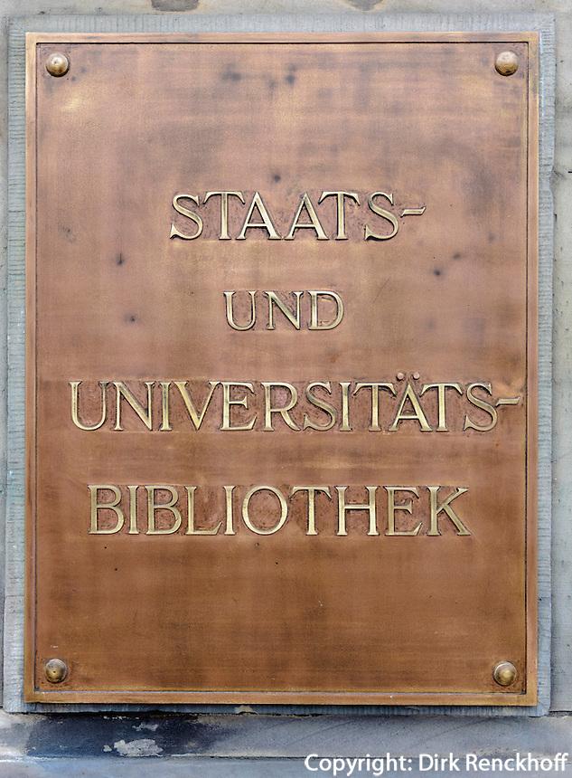 Staats- und Universitätsbibliothek,  Hamburg, Deutschland