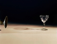 SOUND WAVES SHATTER GLASS<br /> (1 of 2)<br /> The frequency of the sound emitted from speaker shatters glass.