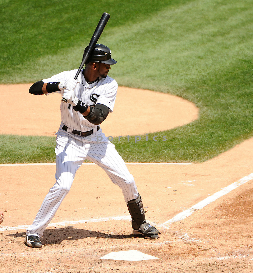 ALEXEI RAMIREZ, of the Chicago White Sox, in action during the White Sox game against the Oakland A's on June 12, 2011 at US Cellular Field in Chicago, Illinois. The Sox beat the A's 5-4.