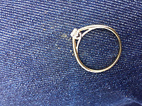 "2017 03 12 Ring worn by ""Satan"" by jilted boyfriend, Newport, UK"