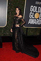 Penelope Cruz attends the 75th Annual Golden Globes Awards at the Beverly Hilton in Beverly Hills, CA on Sunday, January 7, 2018.<br /> *Editorial Use Only*<br /> CAP/PLF/HFPA<br /> &copy;HFPA/PLF/Capital Pictures