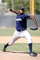 Rolando Pascual / Milwaukee Brewers 2008 Instructional League..Photo by:  Bill Mitchell/Four Seam Images