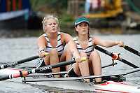 W.J18A.2x  Final  (91) Taunton vs (92) Staines<br /> <br /> Saturday - Gloucester Regatta 2016<br /> <br /> To purchase this photo, or to see pricing information for Prints and Downloads, click the blue 'Add to Cart' button at the top-right of the page.