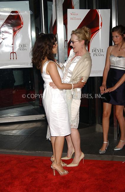 WWW.ACEPIXS.COM . . . . . ....June 19, 2006, New York City. ....Meryl Streep attends 'The Devil Wears Prada' Premiere. ....Please byline: KRISTIN CALLAHAN - ACEPIXS.COM.. . . . . . ..Ace Pictures, Inc:  ..(212) 243-8787 or (646) 769 0430..e-mail: info@acepixs.com..web: http://www.acepixs.com