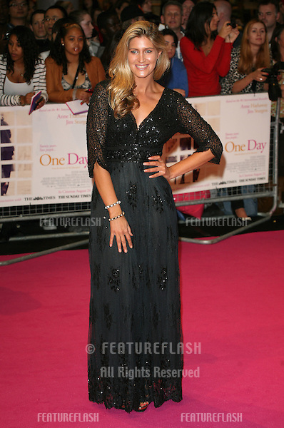 Francesca Hull arriving for the European Premiere of 'One Day' at Westfield, west London. 23/08/2011  Picture by: Alexandra Glen / Featureflash