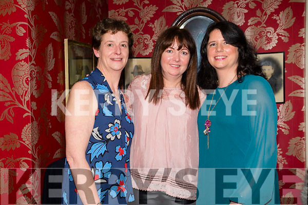 Lorraine Jones, Cute Hall Ballymac, celebrates her 40th birthday with friends at Cassidy's on Saturday Pictured Catherine Brosnan, Ellarina Bowler and Lorraine Jones