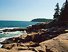 Photographs of Mount Desert Island, Bar Harbor, Cadilac Mountain, Acadia National park, Maine