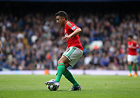 Pictured: Neil Taylor makes a return following a long injury related lay off with an apperance coming on as a substitute<br />
