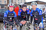 Sliabh Luachra cycling club members, who took part in the Lacey Cup Cycle were l-r: Donal Kelliher, Michael Casey and Donie Kelliher.