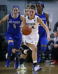 Nevada's MorningRose Tobey competes against Air Force in a women's basketball game in Reno, Nev., on Saturday, Jan. 9, 2016. Nevada won 68-57.<br /> Photo by Cathleen Allison