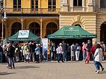 Krynica-Zdrój 29-09-2019. Miasto w województwie małopolskim, w powiecie nowosądeckim. VII Hubertus Krynicki Nowosądeckiego Okręgu PZŁ. Z okazji swojego święta myśliwi i leśnicy zaprezentowali kulturę, tradycje oraz zwyczaje łowieckie oraz Hubertowski Jarmark ze stoiskami wystawienniczymi, na których można było się zapoznać z regionalnymi artykułam  wywodzącymi się z kultur grup etnicznych pochodzących z terenów górskich.