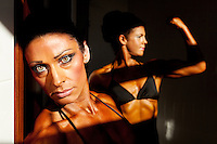 Female physique and figure fitness championships