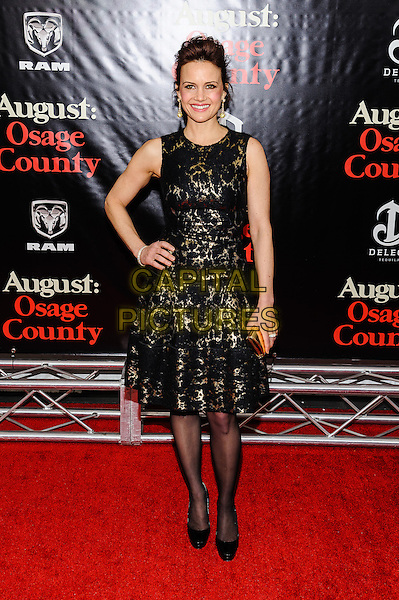 12 December 2013 - New York, New York- Carla Gugino. New York Premiere of &quot;August: Osage County&quot; at The Ziegfeld Theater. <br /> CAP/ADM/MSA<br /> &copy;Mario Santoro/AdMedia/Capital Pictures