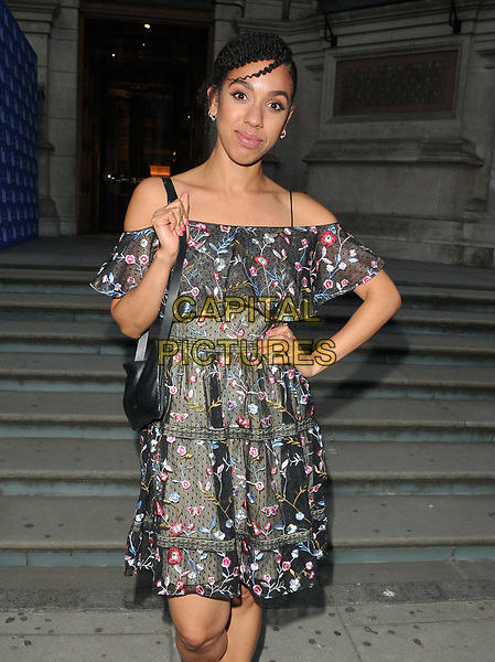 Pearl Mackie at the Frida Kahlo: Making Her Self Up exhibition VIP private view, Victoria and Albert Museum, Cromwell Road, London, England, UK, on Wednesday 13 June 2018.<br /> CAP/CAN<br /> &copy;CAN/Capital Pictures