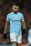 Deflated Nicolas Otamendi of Manchester City during the Champions League Quarter Final 1st Leg, match at Anfield Stadium, Liverpool. Picture date: 4th April 2018. Picture credit should read: Simon Bellis/Sportimage