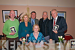 "Launch: At the launch of her first book of poetry ""Poems & Reflections"" by Mary Boyer (seated) Ashfield Listowel,  were Matt Mooney, Maura O'Connor, Sean Quinlan who officially launched the book, Dillon Boyer and Jimmy Deenihan.TD. on Friday night last."