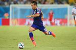 Yuto Nagatomo (JPN), <br /> JUNE 19, 2014 - Football /Soccer : <br /> 2014 FIFA World Cup Brazil <br /> Group Match -Group C- <br /> between Japan 0-0 Greece <br /> at Estadio das Dunas, Natal, Brazil. <br /> (Photo by YUTAKA/AFLO SPORT)