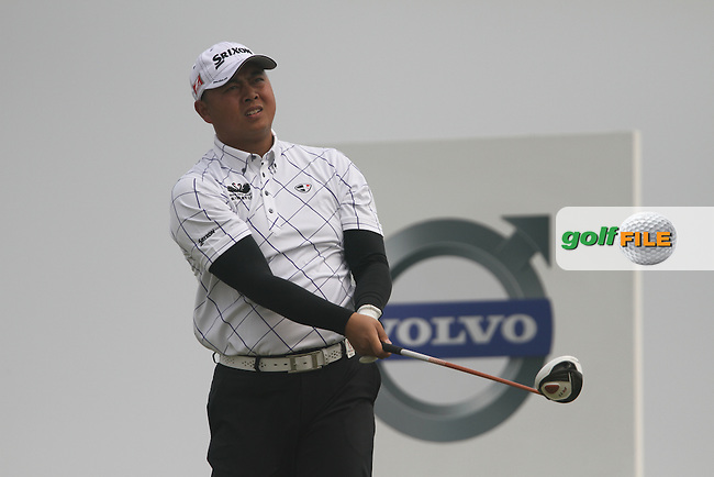 Huang Ming-jie (CHN) on the 12th on Day 1 of the 2012 Volvo China Open at Binhai Lake Golf Club, Tianjin, China...(Photo Jenny Matthews/www.golffile.ie)