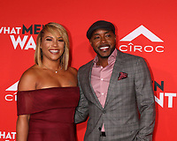 "LOS ANGELES - JAN 28:  Heather Hayslett, Will Packer at the ""What Men Want"" Premiere at the Village Theater on January 28, 2019 in Westwood, CA"