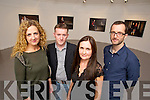 "Pictured at the opening of Kerry Film Festival at Siamsa on tuesday evening were Yvonne Murphy, Damien O'Brien, Author ""The The Time has come"" Roisin McGuigan Director of the Kerry Film Festival and Philip Doyle Kerry Film Festival Chairman."