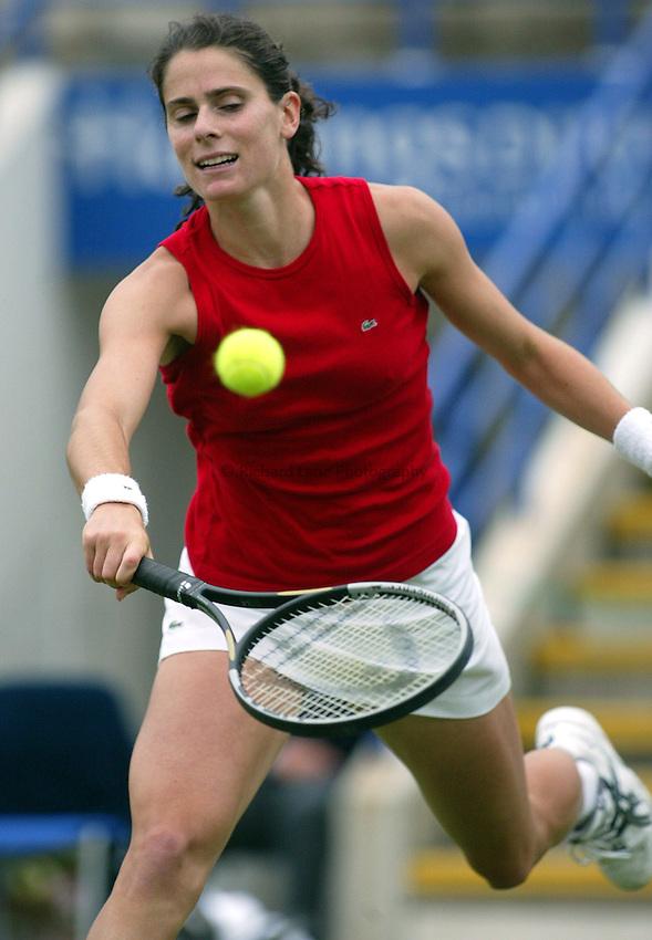 Photograph: Scott Heavey..Hastings Direct International Championships at Eastbourne. 19/06/2003..Nathalie Dechy